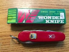 COBRA WONDER KNIFE VINTAGE MULTI TOOL MADE IN JAPAN SWISS ARMY TYPE