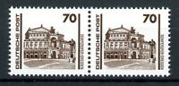DDR MiNr. 3348 I postfrisch MNH Plattenfehler im waag. Paar (C718
