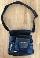 Magnogrip Magnetic Pouch with Hammer Holster Blue Black With Adjustable Belt