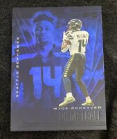 2020 DK METCALF PANINI ILLUSIONS CARD  COLLECTION  BLUE PARALLEL