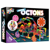 Galt Toys Super Octons - The pieces interlock easily to make a variety of models