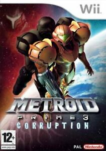 Metroid Prime 3: Corruption NINTENDO WII USATO ITALIANO
