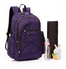 Unisex Smart Multi-function Waterproof Backpack Baby Diaper Bag+Changing Pad-170