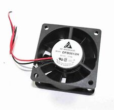 Delta 12v DC 60mm Sq Fan # DFB0612H ( 28F063 )