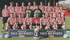 SUNDERLAND FOOTBALL TEAM PHOTO>1996-97 SEASON