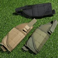 Adjustable Molle Military Gun Pistol Holster Pouch Holder Outdoor Hunting Hot