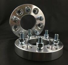 """2pcs 5x4 to 5x114.3 / 5x4 to 5x4.5 Wheel Adapters 1"""" Thick 12x1.5 Stud Spacers"""