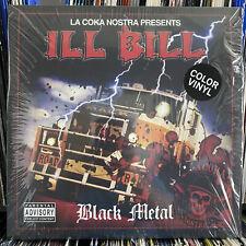 """ILL BILL - BLACK METAL (VINYL 2LP + 7"""") 2019!!  RARE!!  SPLATTER VINYL 1 OF 90!!"""