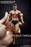 "TBLeague 1/12 Scale PH2019-TM01A 6"" Male Action Muscle Figure Body Model"
