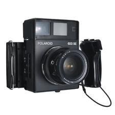 POLAROID 600SE INSTANT FILM CAMERA W/ MAMIYA 75mm F5.6 LENS / READ!