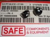 100x Cermet-Potentiometer 470kOhm liegend Piher PTC10MV-474A2020
