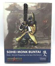 Ronin Ronin01 Sohei Monk Buntai Samurai Skirmish Game Starter Army Warriors NIB