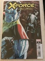 X-FORCE #8 COLOSSUS DOMINO DUSTIN WEAVER REGULAR MAIN COVER 2020 uncanny xmen