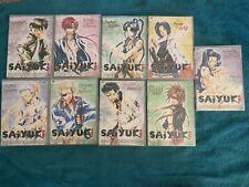 Saiyuki Anime 9 DVD LOT: Volumes 4 5 6 7 8 9 10 11 12 MANGA SERIES COLLECTION