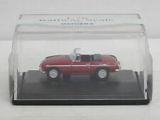 MG B Cabrio in dunkelrot, Oxford, OVP, 1:76, Railway Scale