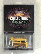 Hot Wheels 29th L.A. Convention Volkswagen Kool Kombi Yellow 2/4 Number 742/2000