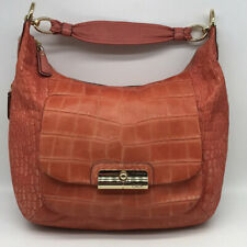 Coach Orange Leather Shoulder Bag
