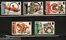 1994 - SERIE DE 5 TIMBRES**COMITE OLYMPIQUE-CIO//SPORTS**STAMP.JERSEY-Y/t.648/52