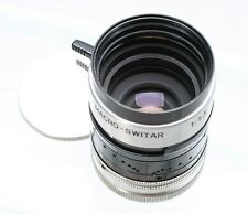 BOLEX KERN-PAILLARD MACRO-SWITAR 12.5MM F/1.3 LENS FOR H8 RX