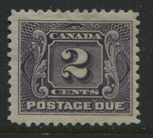 Canada 1906 2 cents Postage Due mint o.g.