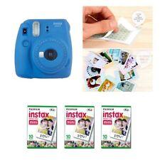Fujifilm Instax Mini 9 cámara azul cobalto 3 Packs Fuji Film 30 Foto 8