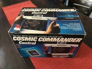 Cosmic Commander Control Atari 2600 OVP