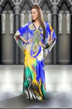 New Dubai maxi dress Caftan printed long dress Kaftan's Beach caftan abaya gown