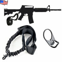 FIT 15 Single Point Sling WITH Adapter Plate Mount COMBO Tactical Bungee