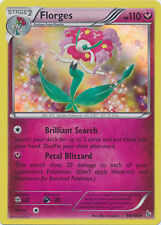 Florges Holo Rare Pokemon Card XY2 Flashfire 66/106