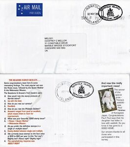 WW70 NI TEN different  PO stamp information sheets air UK:  SEP 2000 - Nov 2003