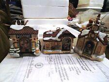 M I Hummel Bavarian Village Heirloom Porcelain Ornaments