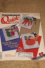 Cross Stitch: Quick & Easy Magazine - Aug/Sept 1990
