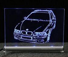 BMW 5 E39 touring AutoGravur auf LED-Leuchtschild 5er
