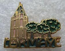 Pin's Ville LORMAYE Eglise avec arbre #1112