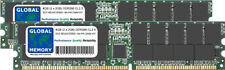 4GB 2x2GB DDR 266MHz PC2100 184-PIN ECC REGISTERED RDIMM SERVER MEMORY RAM KIT