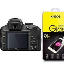 KHAOS Ballistic Tempered Glass Screen Protector For Nikon D3200 D3300