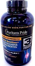 Puritan's Pride Double Strength Glucosamine, Chondroitin & Msm 480 Caplets