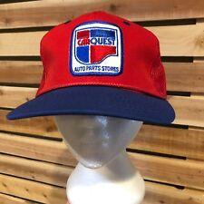 MINT VTG 80s/90s CARQUEST Patch NFL Trucker Snapback Hat/Cap