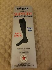 Mens support socks over the calf