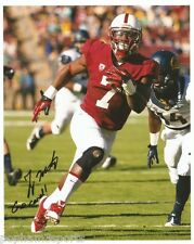 TY MONTGOMERY Signed/Autographed STANFORD CARDINALS 8x10 Photo w/COA