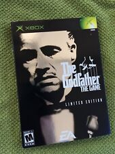 THE GODFATHER: THE GAME / RARE LIMITED EDITION ORIG. XBOX ~ 12 PICS, FREE SHIP!!