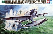 Tamiya 61017 1/48 Model Kit Nakajima A6M2-N Type-2 Float Plane Fighter(Rufe)