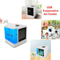 Portable Mini Car Home Office USB Evaporative Air Conditioning Cooler Humidifier