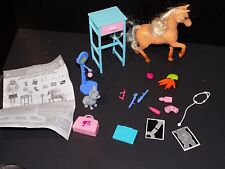 Barbie Animal Doctor Animals,Furniture,Many Accessories horse