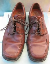 Clarks Unstructured Brown Leather Casual Comfort Oxfords Men's 11.5M
