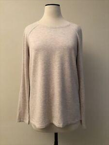 LULULEMON Ever Ready luxury soft beige stretchy modal pullover shirt 8 Mint