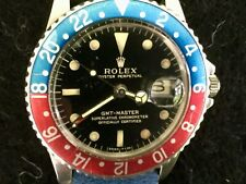 Early 1966 Rolex GMT Master 1675 Gilt Dial