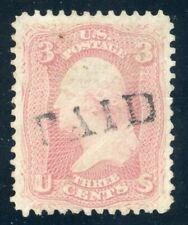 US Stamp #64b 3c Washington, PSE Cert - Used Cv $160.00