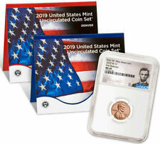 More details for 2019 w lincoln cent ngc ms69 plus sealed united states mint set uncirculated