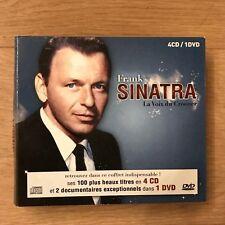 Coffret 4 CDs / 1 DVD - Frank SINATRA - La Voix du Crooner